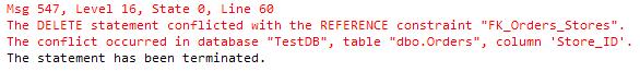 FK-Delete-Error