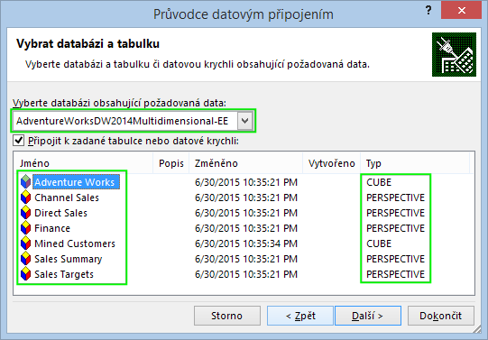 Excel-Connection-To-SSAS-Cube-Database-Selector