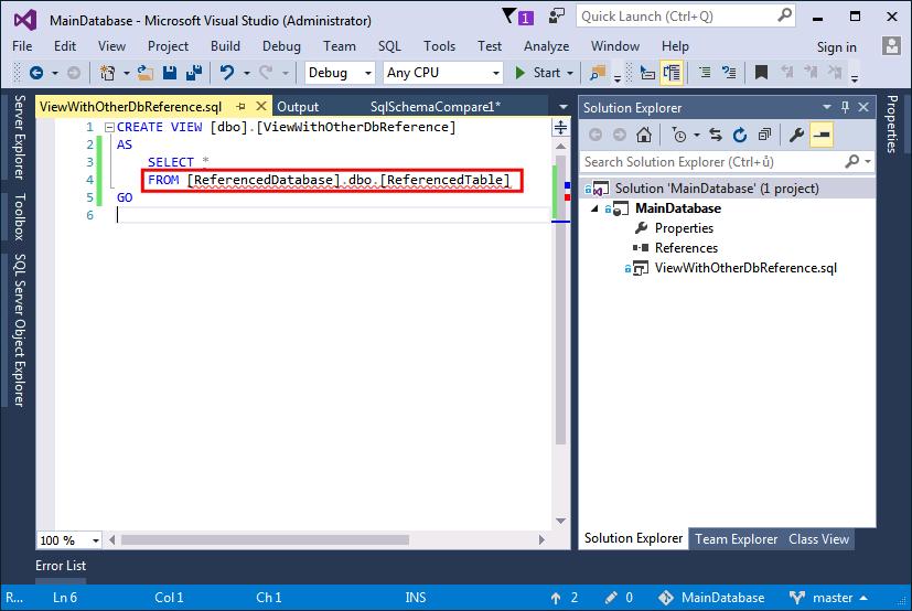 VS2016-SQL-Server-Project-Solve-Database-Reference-1a