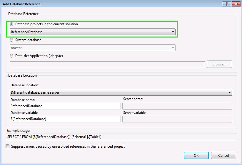 VS2016-SQL-Server-Project-Solve-Database-Reference-4