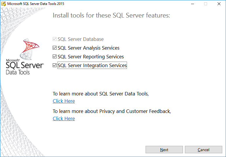 03-Sql-Server-2016-Data-Tools-Features
