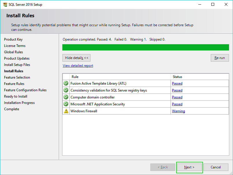 04_Installing-SQL-Server-2016-Install-Rules