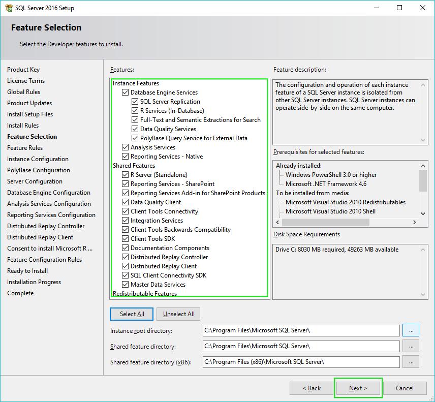05-Installing-SQL-Server-2016-Features