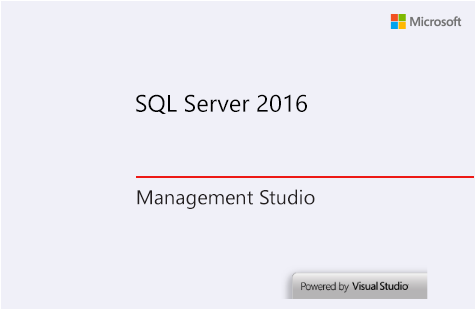 07-SQL-Server-2016-Management-Studio-Starting