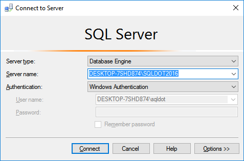 08-SQL-Server-2016-Management-Studio-Login