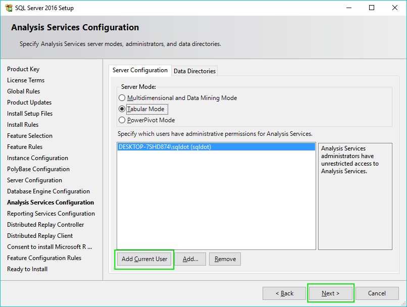 15_Installing-SQL-Server-2016-Analysis-Services